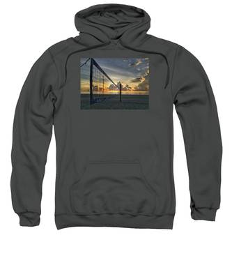 Volleyball Sunrise Sweatshirt