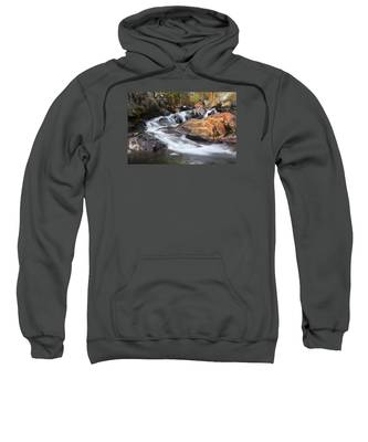 Waterfall In Lee Vining Canyon 2 Sweatshirt