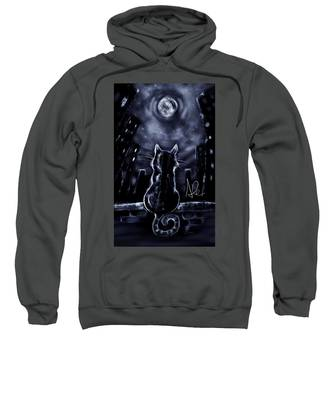 Whispering To The Moon Sweatshirt