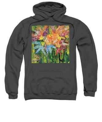 Zinnias Gone Mad Sweatshirt