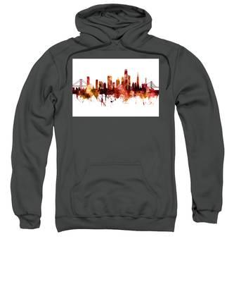 San Francisco City Skyline Sweatshirt