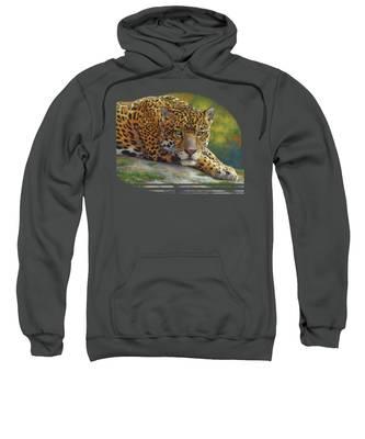 Peaceful Jaguar Sweatshirt