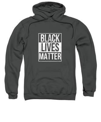 Blm Hooded Sweatshirts T-Shirts