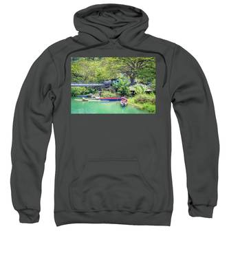 Boat And Rafting Tours Sweatshirt