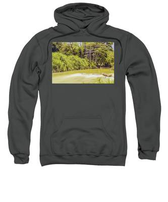 Country River In Trelawny Jamaica Sweatshirt