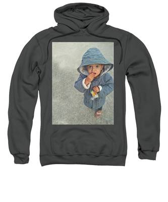Long Hooded Sweatshirts T-Shirts