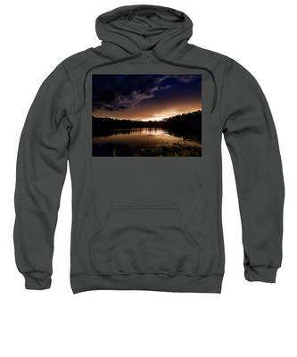 Dark Clouds Hooded Sweatshirts T-Shirts