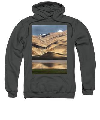 Golden Light Tso Moriri, Karzok, 2006 Sweatshirt