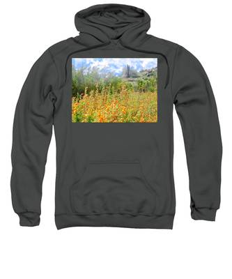 Sweatshirt featuring the photograph Heavenly Home In Arizona by Judy Kennedy