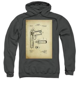M1911 Browning Pistol Patent Sweatshirt
