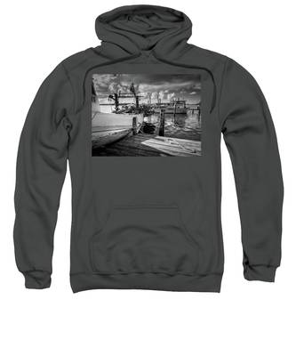 Ready To Go In Bw Sweatshirt