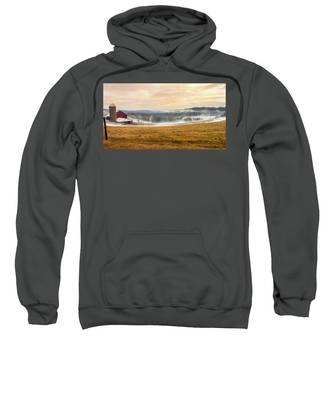 Sunrise On The Farm Sweatshirt