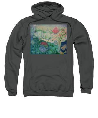 Tea Party Sweatshirt