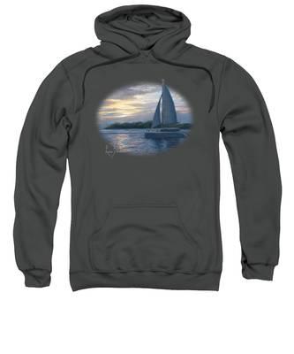 Sailboats Hooded Sweatshirts T-Shirts
