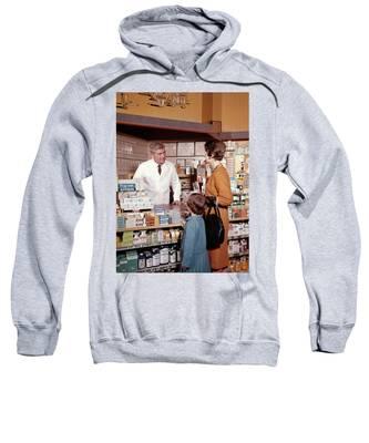 Original Vintage Pharmacy Medical Remedies Sweatshirt