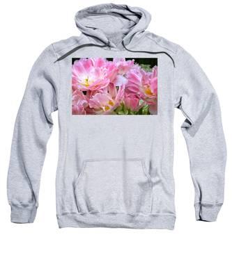 A Crowd Of Tulips Sweatshirt