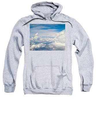 Above The Clouds Over Texas Image B Sweatshirt