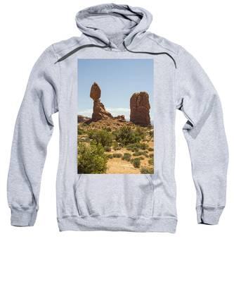 Balancing Rock In Arches Sweatshirt