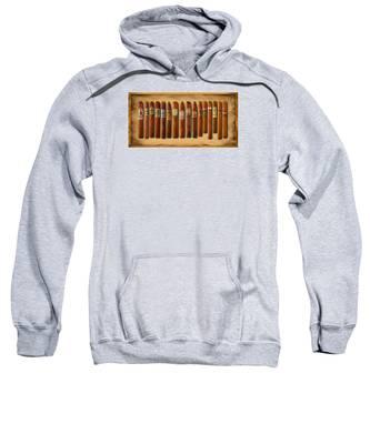 Cigar Sampler Painting Sweatshirt