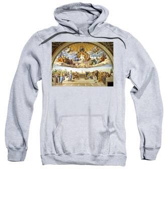 Disputation Of Holy Sacrament. Sweatshirt