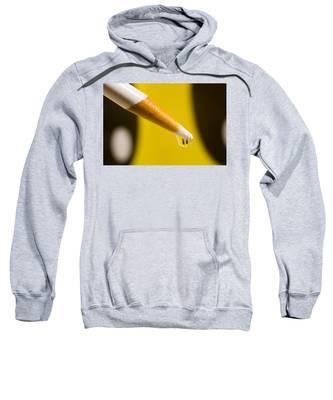 Happy Water Drop Pencil Sweatshirt
