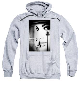 Entrance To A Woman's Mind Sweatshirt