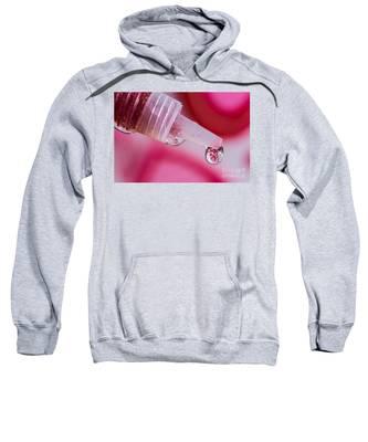 Glitter Love Drop Sweatshirt