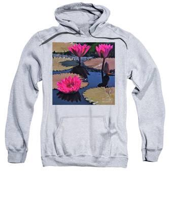 Hot Pink Tropicals Sweatshirt