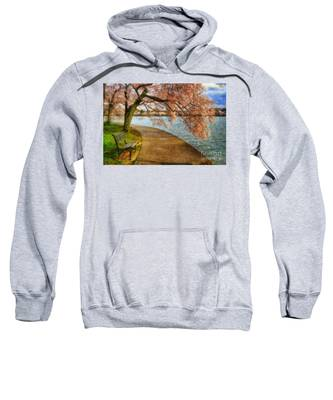 Meet Me At Our Bench Sweatshirt