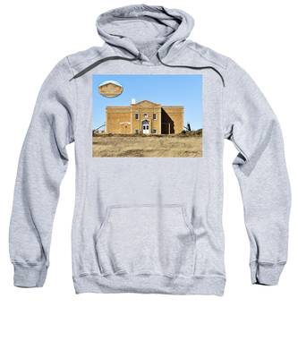 Sweatshirt featuring the photograph Old School by Susan Kinney