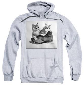 Playful Kittens Sweatshirt