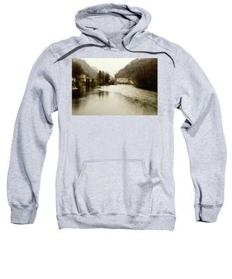 Power Plant On River Sweatshirt