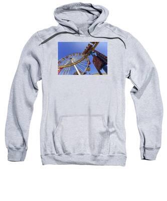 Santa Monica Pier Pacific Plunge Sweatshirt