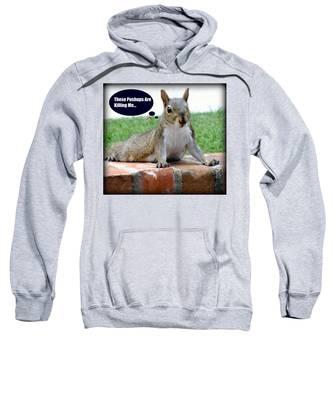 Squirrely Push Ups Sweatshirt