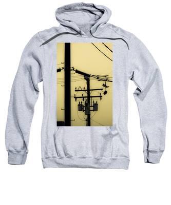 Telephone Pole And Sneakers 5 Sweatshirt