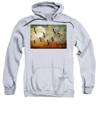 The Flight Of The Snow Geese Sweatshirt