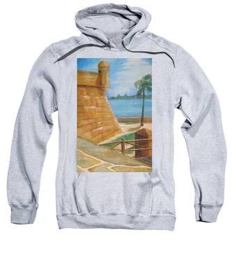 Warm Days In St. Augustine Sweatshirt