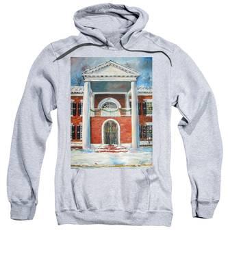 Winter Spirit In Dahlonega Sweatshirt