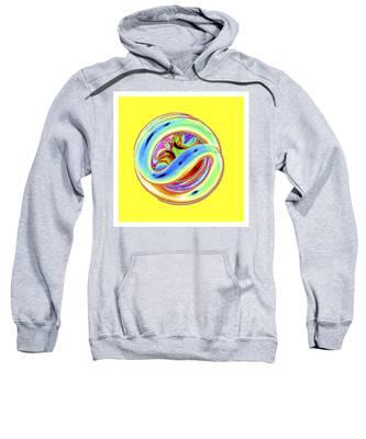 Yellow Fluorescent Sweatshirt