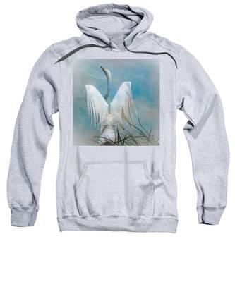 Egret Preparing To Launch Sweatshirt