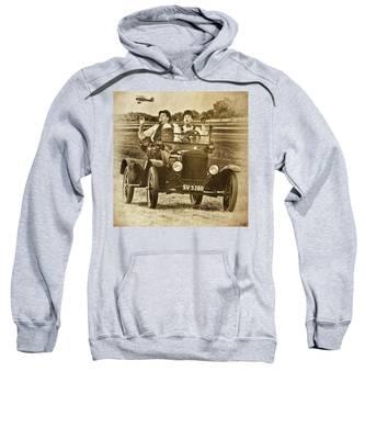 Not Likely Laurel And Hardly Hardy Sweatshirt