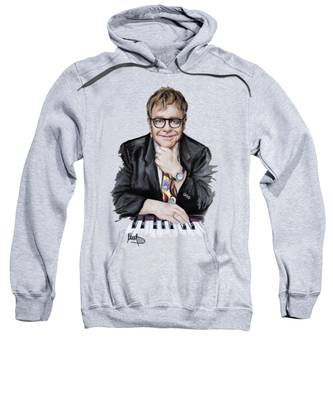 Elton John Music Rock Hooded Sweatshirts T-Shirts