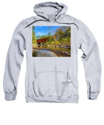 Everett Covered Bridge  Sweatshirt