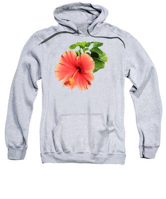 Yellow Hibiscus Hooded Sweatshirts T-Shirts