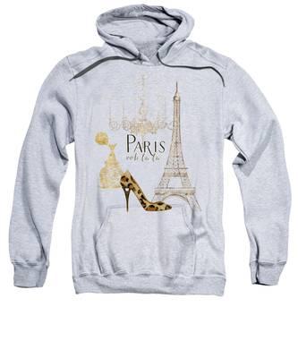 Paris Hooded Sweatshirts T-Shirts