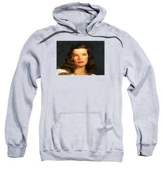 Portrait Of Katherine Hepburn Sweatshirt