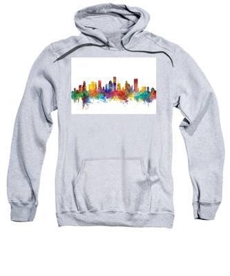 Houston Texas Skyline Sweatshirt