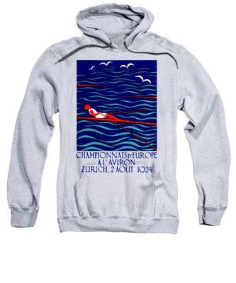 Rowing Hooded Sweatshirts T-Shirts