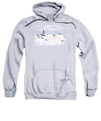 Michigan Winter Sweatshirt by Jill Wellington