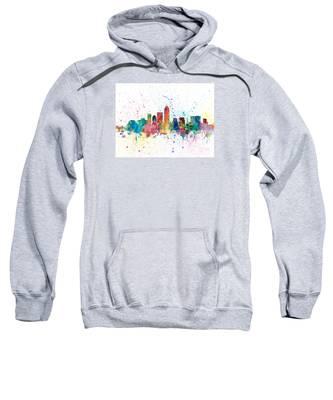 Indianapolis Indiana Skyline Sweatshirt